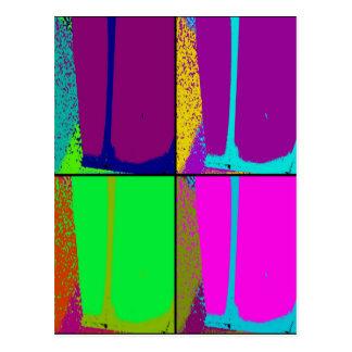 Neon Pop Postcard