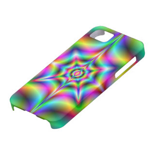 Neon Psychedelia iPhone 5 Case