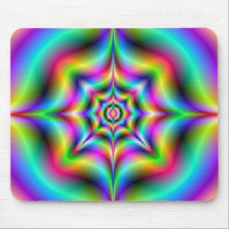 Neon Psychedelia Mousepad