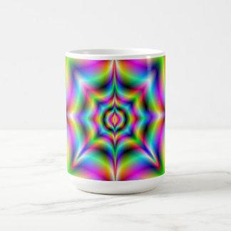 Neon Psychedelia Mug