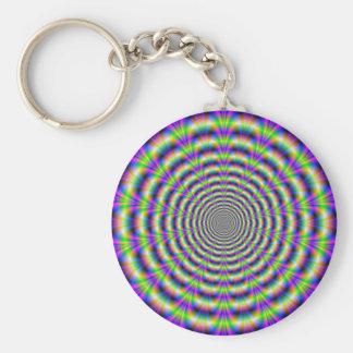 Neon Pulse Key Chain
