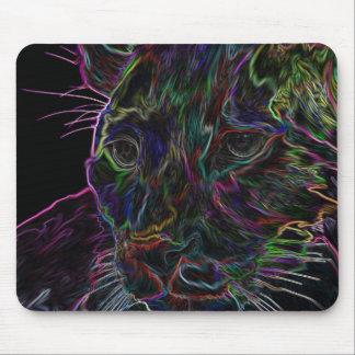 Neon Puma 2 Mouse Pad