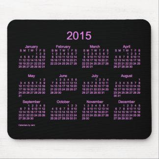 Neon Purple 2015 Calendar by Janz Mouse Pad