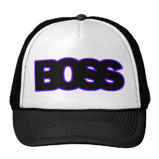 Neon Purple BOSS Mesh Hats