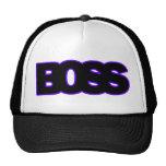 Neon Purple BOSS Trucker Hat