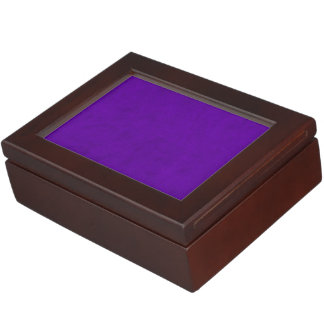 Neon Purple Color Velvet Custom Home Casino Keepsake Box