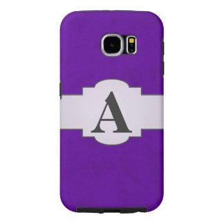 Neon Purple Color Velvet Custom Home Casino Samsung Galaxy S6 Case