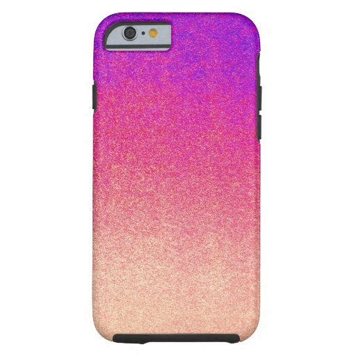 Neon purple pink peach ombre spray paint texture tough for Spray paint iphone case