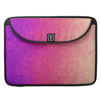 Neon Purple Pink Peach Ombre Spray Paint Texture Sleeve For MacBook Pro