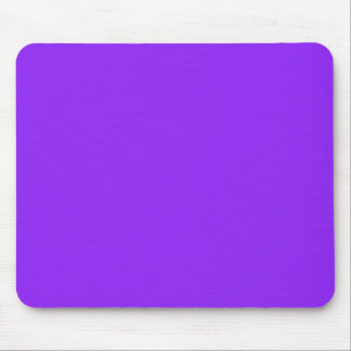 Neon Purple Solid Color Customize It Mouse Pad