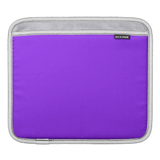 Neon Purple Solid Color Sleeves For iPads