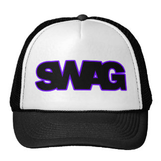 Neon Purple SWAG Hats