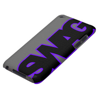 Neon Purple SWAG iPod Touch Case