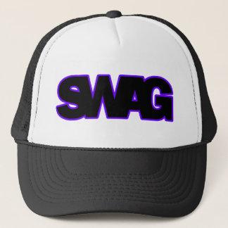 Neon Purple SWAG Trucker Hat