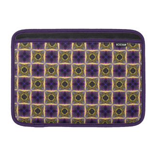 "Neon Quilt Pattern 11"" MacBook Air Sleeve"