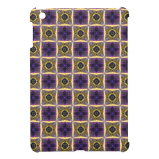 Neon Quilt Pattern Cover For The iPad Mini