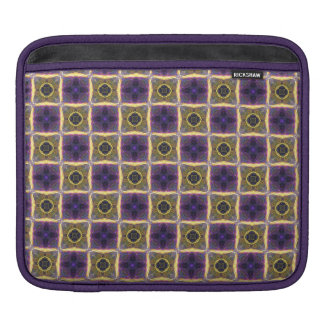 Neon Quilt Pattern Sleeve For iPads