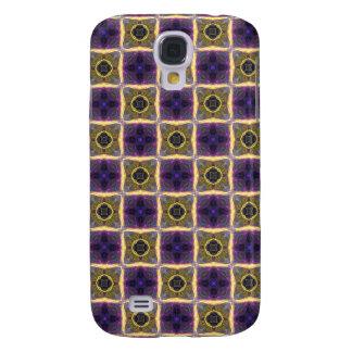 Neon Quilt Pattern Samsung S4 Case