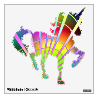 Neon Radiance Wall Decal
