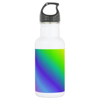 Neon Rainbow Gradient Water Bottle
