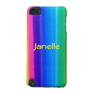 Neon Rainbow I-pod Touch Case for Anyone iPod Touch (5th Generation) Cases