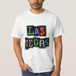 Neón retro de Las Vegas Playera