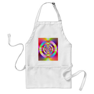 Neon Rings Adult Apron