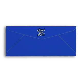 Neon Rock and Roll Envelope