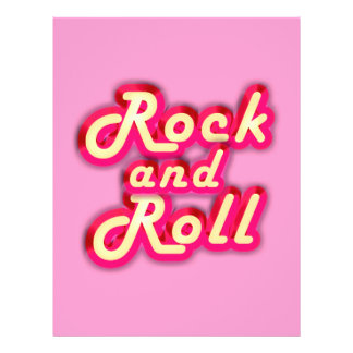 Neon Rock and Roll Flyer