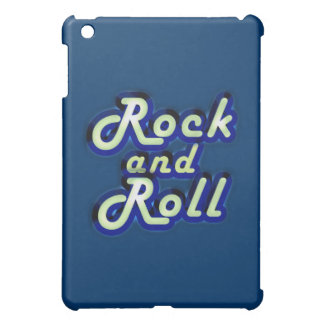 Neon Rock and Roll iPad Mini Cover