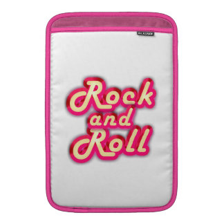 Neon Rock and Roll MacBook Sleeve