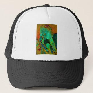 Neon Rock Singer Trucker Hat