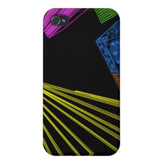 Neon Rockefeller Skyline iPhone case