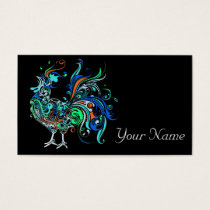 Neon Rooster Business Card