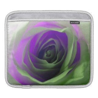 Neon Rose Photograph iPad Sleeves