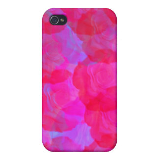 Neon Roses  Case For iPhone 4