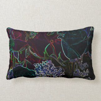 Neon Roses collection pillow