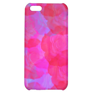 Neon Roses  Cover For iPhone 5C