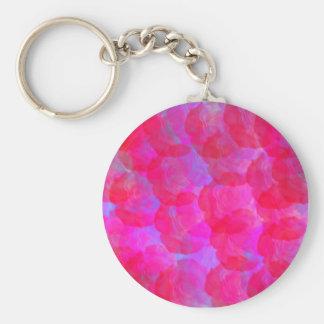 Neon Roses Keychain