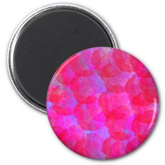 Neon Roses Magnet