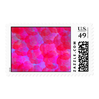 Neon Roses Postage