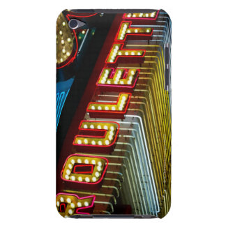 Neon roulette sign at casino, Las Vegas, Nevada iPod Touch Case