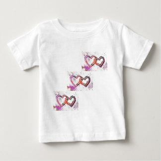 Neon Sand Hearts Baby T-Shirt