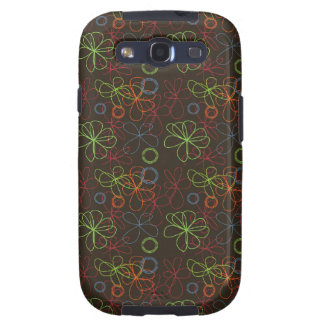 Neon Scribbles Samsung Galaxy SIII Cover