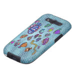 Neon Sealife Samsung Galaxy S3 Vibe Case Galaxy S3 Covers