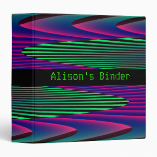 Neon Seas Custom Binder