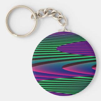 Neon Seas Keychain