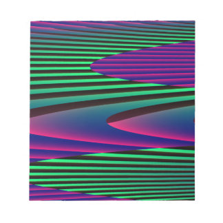 Neon Seas Notepad