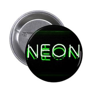 NEÓN - señal de neón verde Pin