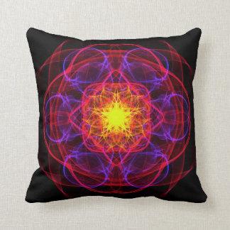 Neon Sigil 2 Throw Pillows